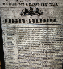 New Years edition of the Nassau Guardian, 1891